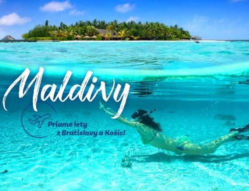 Novinka MALDIVY 🌴😍🍹 sen každého dovolenkára s odletom 🛫 priamo z Bratislavy a Košíc!